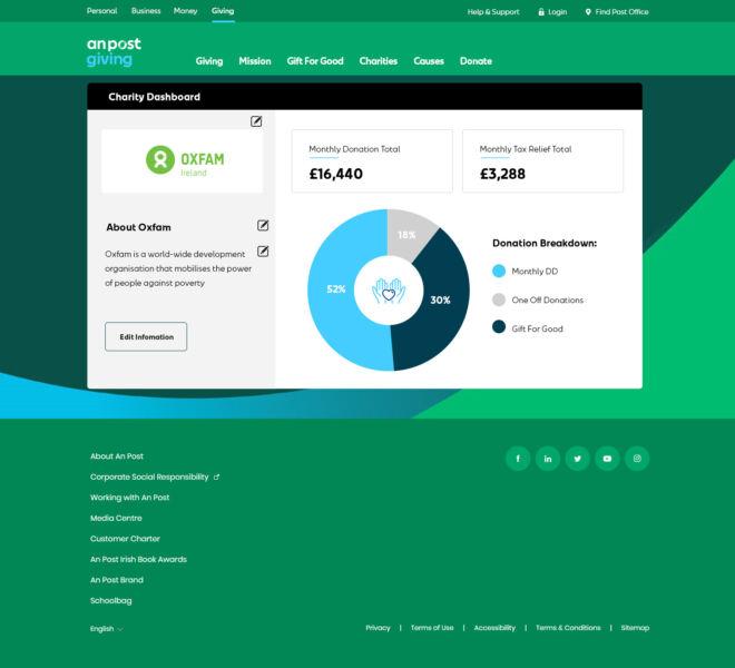 APostGiving-dashboard