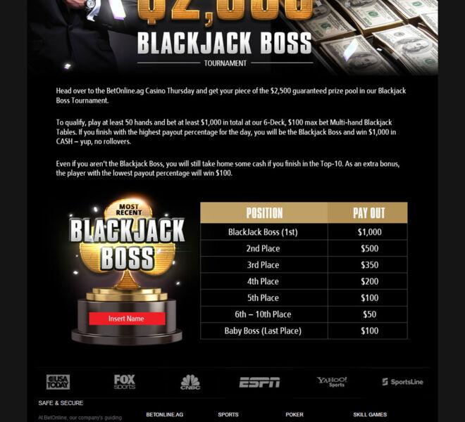 Blackjack-Boss